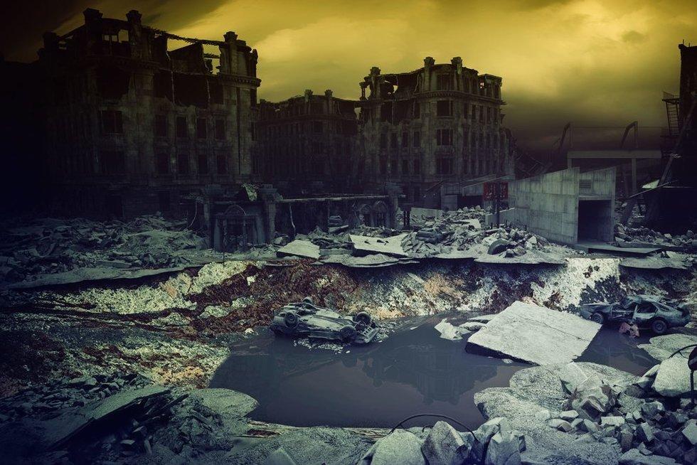 """Net ir """"nedidelis"""" branduolinis karas baigtųsi siaubinga katastrofa visiems (nuotr. 123rf.com)"""