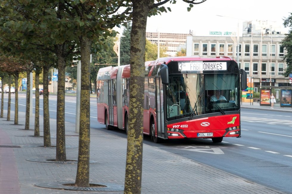 Vilniaus viešasis transportas (nuotr. vilniustransport.lt)