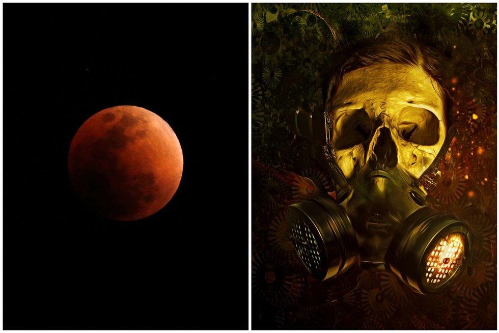 Kruvinasis mėnulis (nuotr. SCANPIX)