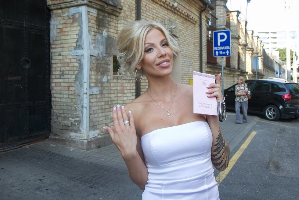 Marinos Bui vestuvės (nuotr. Tv3.lt/Ruslano Kondratjevo)