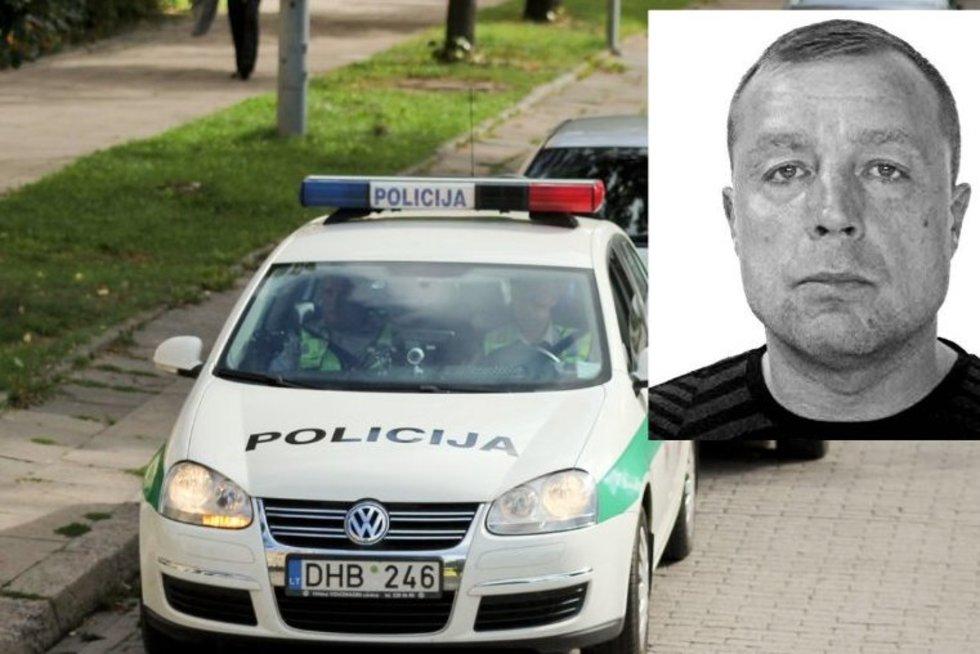 Policija ieško Renaldo Kanio (tv3.lt fotomontažas)