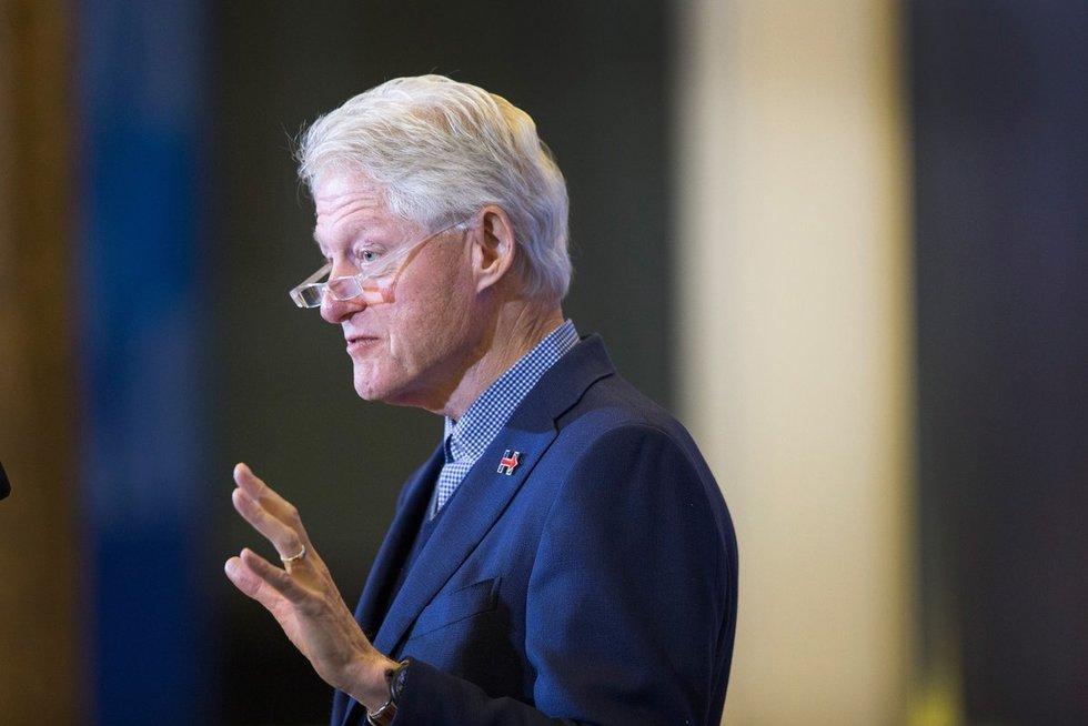 JAV prezidentas Bill Clinton (nuotr. SCANPIX)