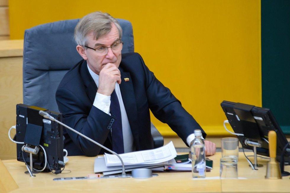 Viktoras Pranckietis (nuotr. Eimanto Genio)