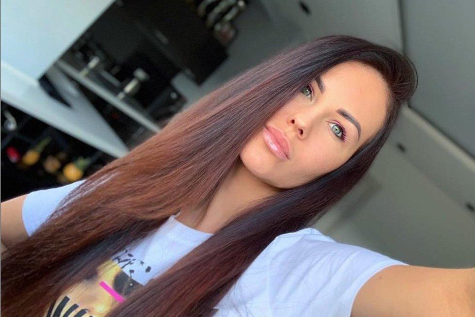 Indrė Burlinskaitė (nuotr. Instagram)