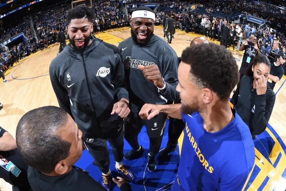Startuoja naujasis NBA sezonas (nuotr. SCANPIX)