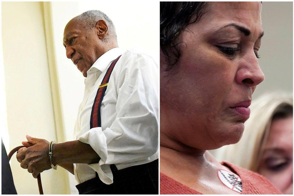 Legendinis komikas ir aktorius Billas Cosby sės už grotų (nuotr. SCANPIX)