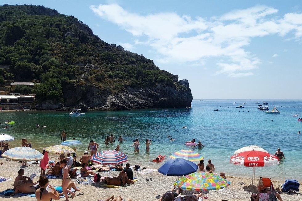 Korfu sala Graikijoje (nuotr. 123rf.com)