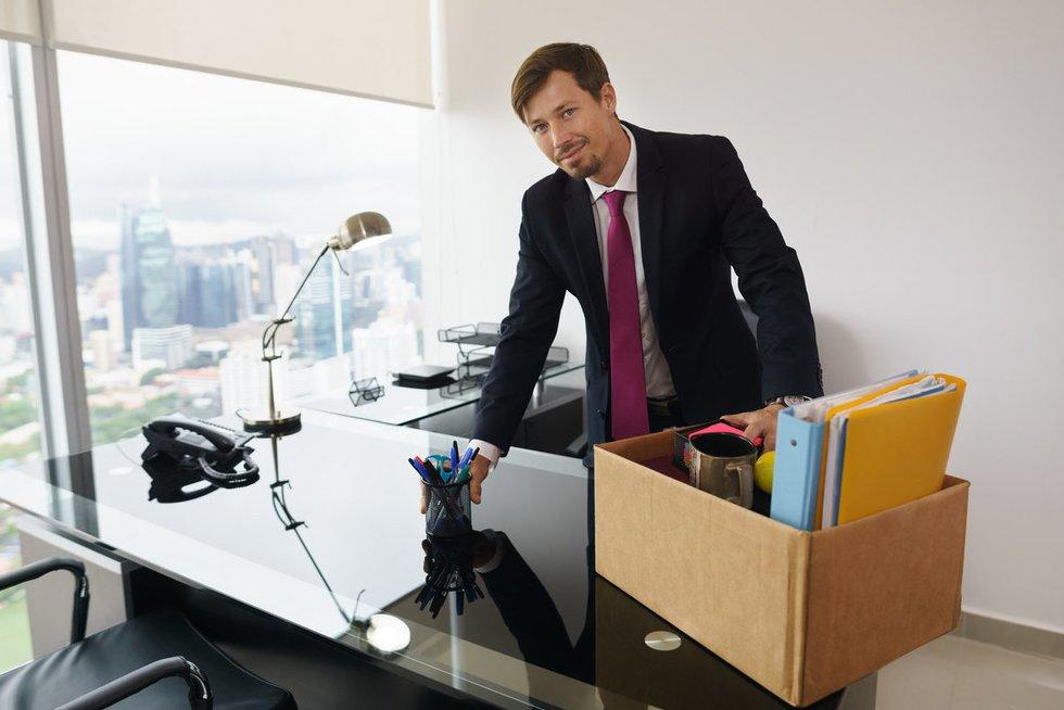 Nauja darbo vieta (nuotr. Fotolia.com)