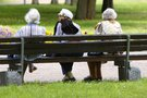 Pensininkės (Fotodiena.lt/Roko Medonio nuotr.) (nuotr. Balsas.lt)