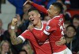 """""""Premier"""" lygoje Manchester """"United""""  pergalė, """"Watford"""" be Giedriaus Arlauskio pralaimėjo"""