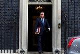 Davidas Cameronas širdingai išlydėtas: jausminga kalba ir kolegų plojimai