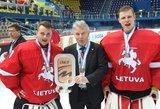 Kroatų ledo ritulininko atlyginimas didesnis nei visos Lietuvos rinktinės žaidėjų kartu sudėjus