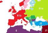 Paskelbė žemėlapį pagal žmonių DNR: netikėtas Baltijos šalių rezultatas