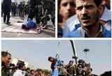"""Paviešino šokiruojančius """"Reuters"""" kadrus: mažametės žudikas – sušaudytas ir pakartas"""