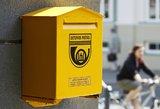Būkite budrūs: sukčiai bando išvilioti pinigus prisidengdami netikra Lietuvos pašto svetaine