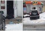 Šiurpi nelaimė: negavęs alkoholio prie parduotuvės durų susisprogdino vyras