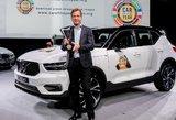 """Ženevos automobilių paroda 2018: """"Europos metų automobiliu"""" tapo """"Volvo XC40"""""""