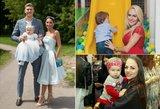 Lietinga vasara netrukdo poilsiui Lietuvoje: garsių mamų atostogų pavyzdžiai