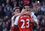 """""""Premier"""" lygoje """"Arsenal"""" iškovojo svarbią pergalę kovoje dėl patekimo į Čempionų lygą"""