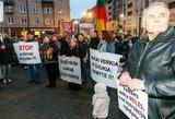 Mitingo prie Seimo nuotaikos: žmonės kalba apie grobiamus vaikus