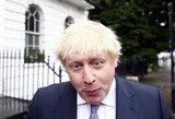 Britų užsienio reikalų sekretorius švaistosi įžeidimais