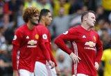 """Ne pinigai žaidžia: """"Manchester United"""" krito ir prieš """"Watford"""""""
