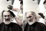 Šio vyro grožį slėpė gyvenimo būdas ir nušiurę plaukai: pamatykite, kaip jis atrodo šiandien
