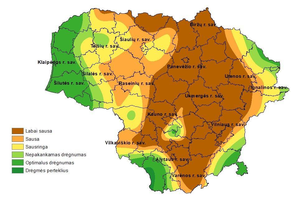 Sausra Lietuvoje