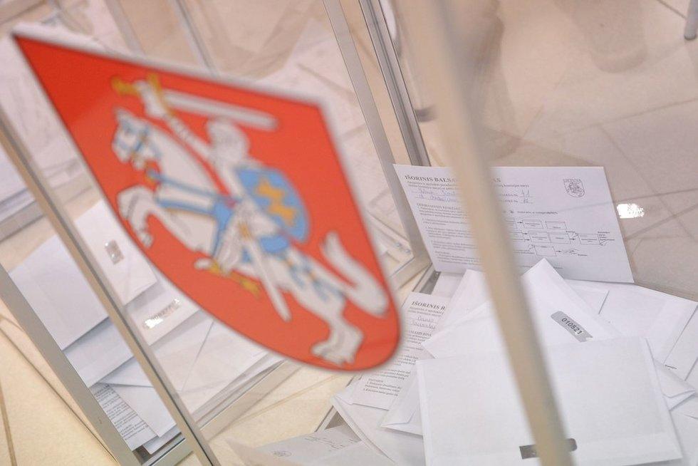 Rinkimai (nuotr. Fotolia.com)