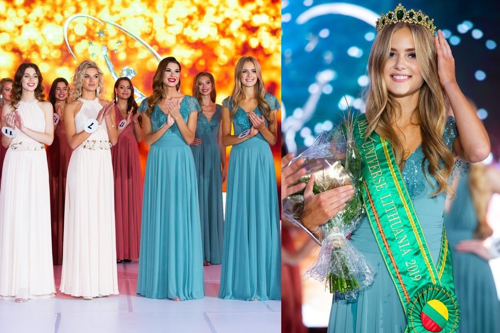 "Grožio konkursas ""Miss Universe Lithuania"" (tv3.lt fotomontažas)"