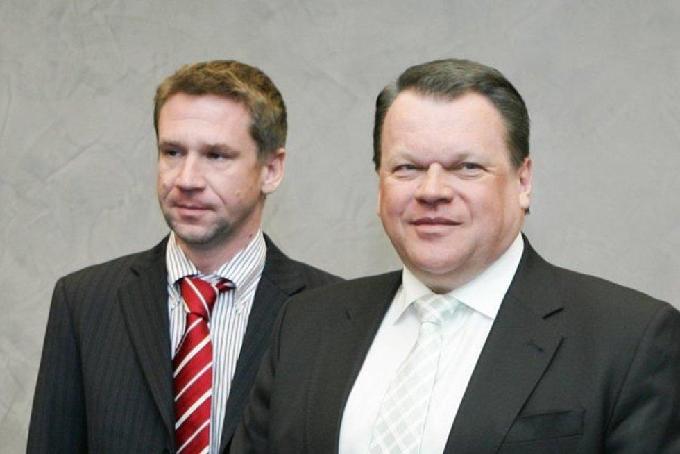 Vladimiras Antonovas ir Raimondas Baranauskas (nuotr. BFL / Š. Mažeikos)