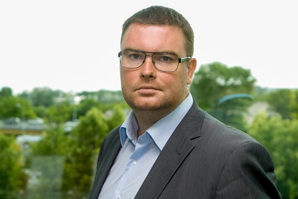 Lietuvos verslo konfederacijos mokesčių komisijos pirmininkas Marius Dubnikovas (nuotr. Tv3.lt/Ruslano Kondratjevo)
