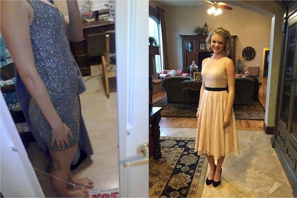 Uždraustos išleistuvių suknelės (nuotr. socialinių tinklų)
