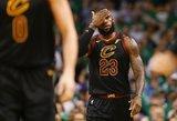 "Smūgis LeBronui: ""Celtics"" iki finalo liko žingsnis"