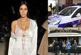 Kim Kardashian po apiplėšimo Paryžiuje išskrido namo į JAV