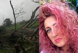 Airijoje nuo galingo uragano nukentėjo ir lietuvė: iš namų išvažiavau po skambučio