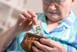 Perskaičiuotos senatvės pensijos išmokamos šimtams tūkstančių senjorų