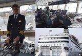 Gyvenimas vandenynų platybėse: laivo kapitonas atskleidė savo profesijos užkulisius