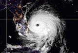 """""""Istorine tragedija"""" pramintas uraganas """"Dorian"""" jau nusinešė gyvybių –evakuojama milijonas gyventojų"""