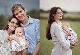 Mantautė – penkiavaikė dula: gimdymą įamžina nuotraukose