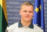 Susidūrė policijos automobilis ir mikroautobusas – žuvo pareigūnas