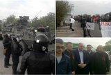 Išpuolis Moldovoje: Kremliaus pakalikai sustabdė NATO mokymus