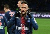 PSG sudėtis draugiškoms rungtynėms – be Neymaro