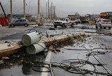 """Puerto Riką niokoja """"šimtmečio audra"""" tapęs uraganas """"Maria"""""""