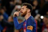 Lionelis Messi parodė įspūdingą marškinėlių kolekciją, kurioje nėra vienos garsios pavardės