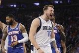 """Dončičius vėl buvo puikus, """"Mavericks"""" iškovojo trečią pergalę iš eilės"""