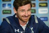 """Spauda: A. Villas-Boasas """"Tottenham"""" klubą paliks iki vasaros"""