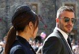 Moterys tiesiog alpsta: vestuvėse – žadą atimantis D. Beckhamo poelgis