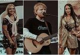 Sheerano koncerte Rygoje –būrys žinomų lietuvių: nepraleido ir svarbaus vakarėlio