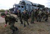 Rusijos kariuomenė pradėjo didelio masto pratybas šalia Gruzijos